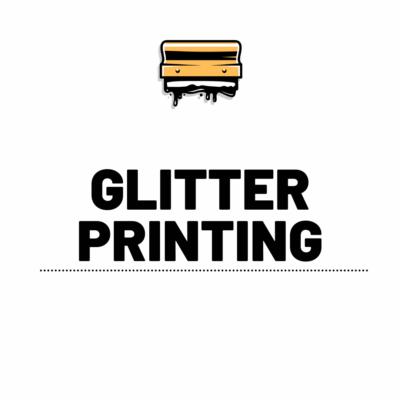 Glitter Printing