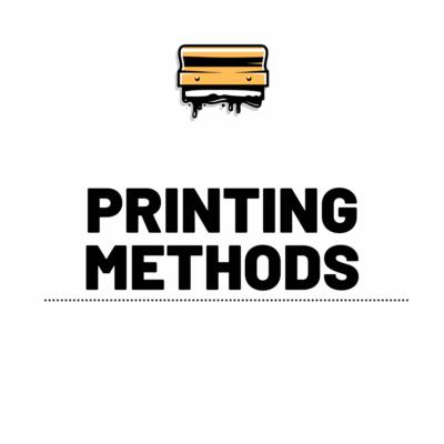 Shop By Printing Methods